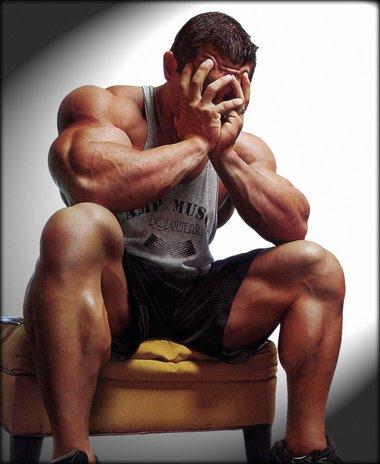 Почему перестаёт расти мышечная масса
