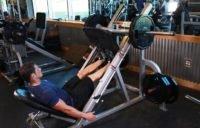 Подъём стоп в тренажёре для жима ногами