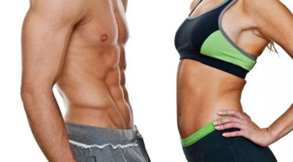 Различия мужского и женского похудения