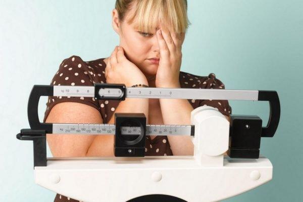 Причины остановки процесса похудения