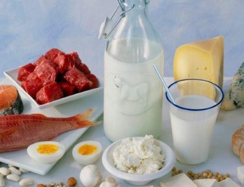 Белковые продукты для похудения и набора массы
