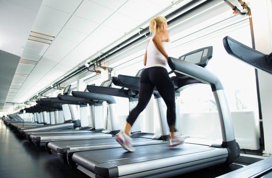бег на дорожке похудение