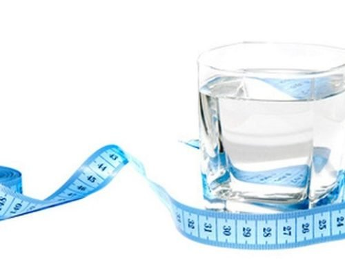 Похудение с помощью воды