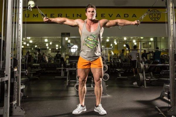 Тренировка грудных мышц и спины