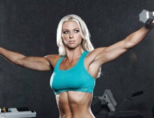 Тренировка грудных мышц и плеч