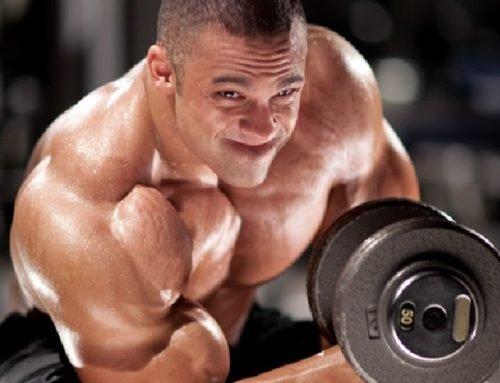 Тренировка грудных мышц и рук