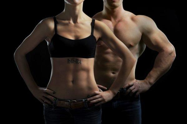 Тренировка для похудения живота и боков