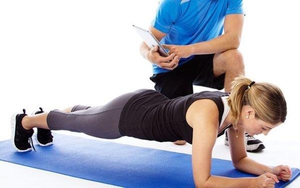 Комплекс упражнений планка для похудения