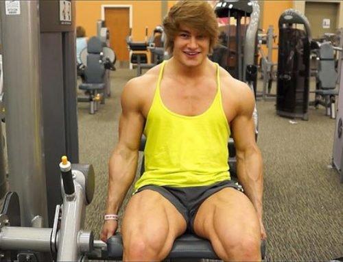 Тренировка ног и плеч